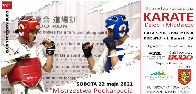 Mistrzostwa Podkarpacia Karate Dzieci i Młodzieży